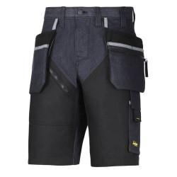 6104 Pantalón corto Vaquero RuffWork+ con bolsillos flotantes