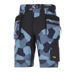 6904 Pantalón corto FlexiWork+ con bolsillos flotantes