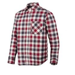 8501 Camisa Franela Acolchada Cuadros RuffWork