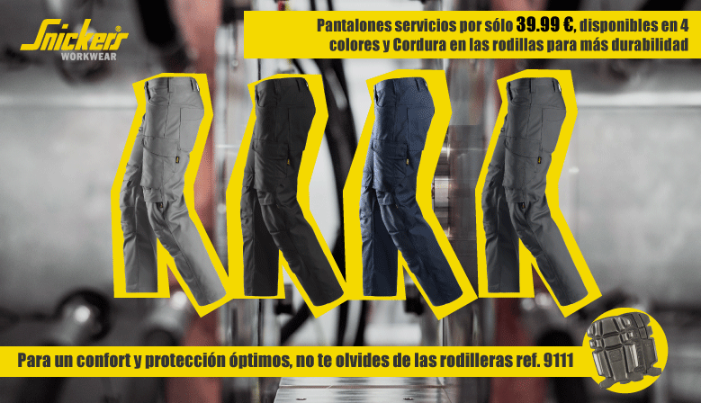 promoción pantalones servicios