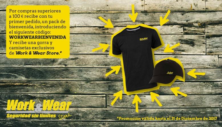 Te regalamos una camiseta y gorra por una compra superior a 100€